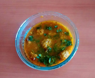 Lauki Ka Kofta\ Bottle Gourd Kofta Curry
