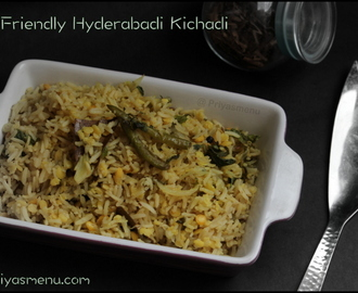 Diet Friendly Hyderabadi Kichadi