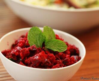 Beetroot Thoran / Poriyal
