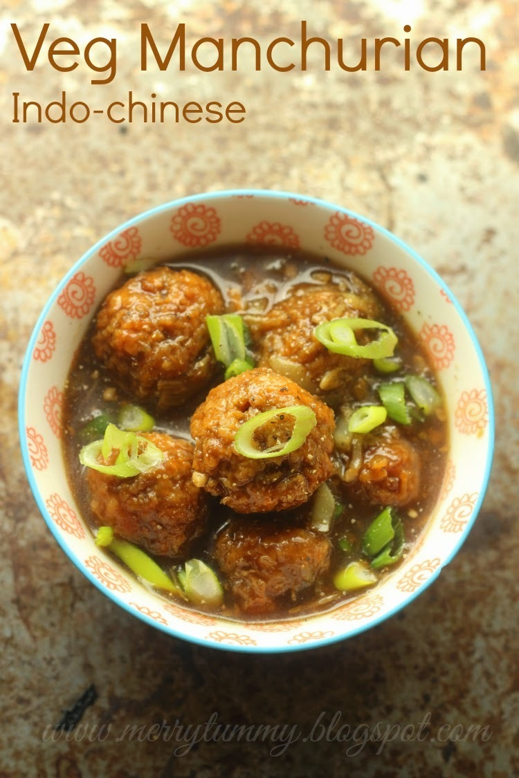 Veg Manchurian (dry and with gravy): Indo Chinese: Street Food
