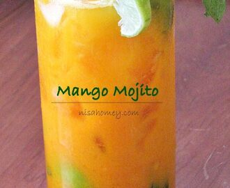 Mango Mojito Recipe - Mocktail Recipes