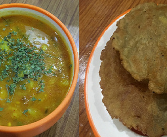 How to make Vrat Wale Aloo Poori- Vrat Wale Aloo Poori recipe