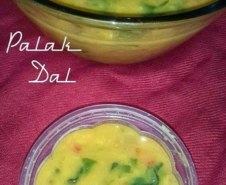 Palak Dal Recipe, How to make Dal Palak Recipe | Spinach Dal Recipe