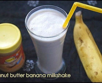 PEANUT BUTTER BANANA MILKSHAKE/SUMMER SPECIALS