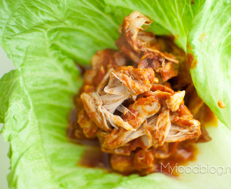 Pulled chicken (hét alternatief voor pulled pork)