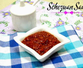Schezwan Sauce Recipe | How to make Homemade Schezwan Sauce