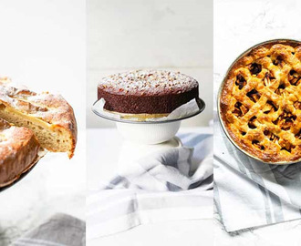 8 easy cake recipes for dessert