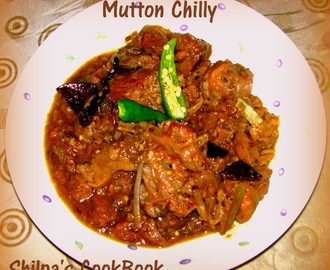 Mutton Chilly