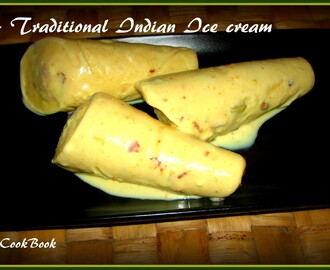 "Celebrating 1 year of my Blog with ""Kulfi"" - Traditional Indian Ice Cream"