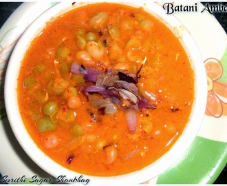 Green Peas Curry / Batani Ambat