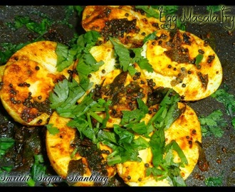 Egg Masala Fry Recipe