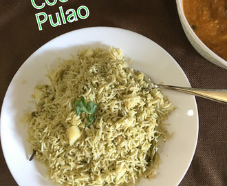 Mint Coconut Pulao ~ Lunch Box Recipes ~ Instant Pot Method