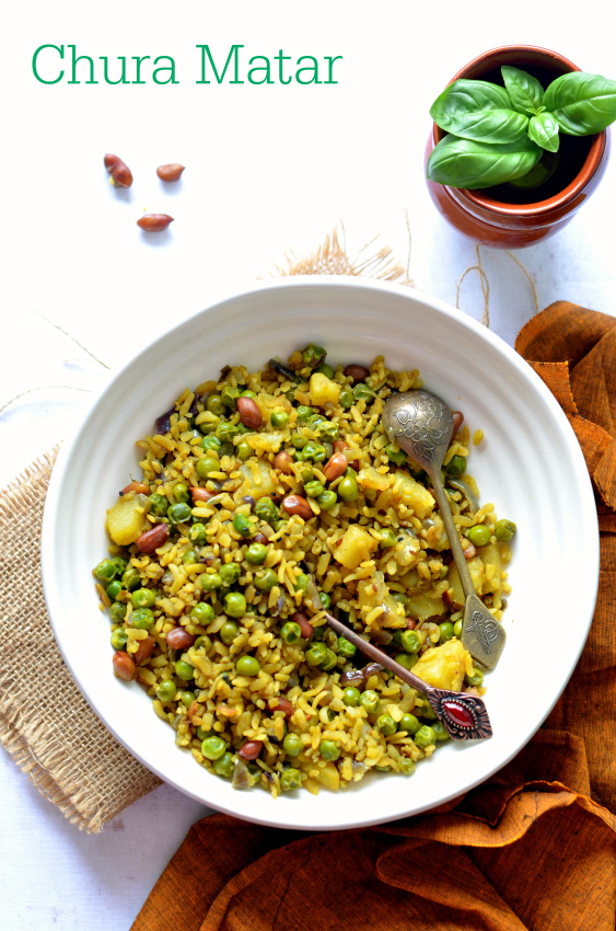 Chura Matar | Poha recipe from Bihar | Easy and healthy breakfast recipes