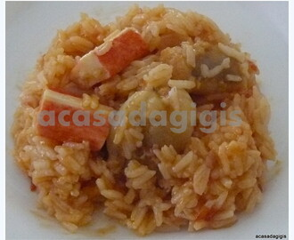 Arroz de Tamboril e Delicias do Mar