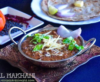 Dal Makhani Punjabi Recipe | Delicious Buttery Lentils