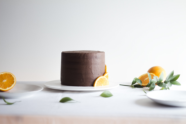 Bolo de Laranja e Chocolate | Orange & Chocolate Cake
