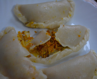 Meen ada | Fish ada | Steamed fish momos with step by step photos