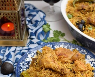 spicy Chicken Arabic Kabsa