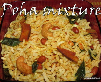 Avalakki Mixture I Poha mixture recipe