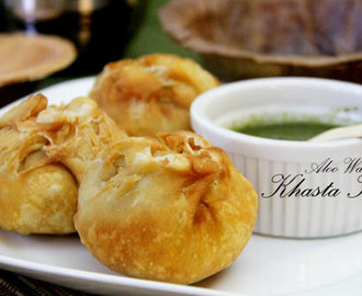 Aloo khasta Kachori Recipe – Khasta Kachori with Potato Stuffing – aloo kachori recipe