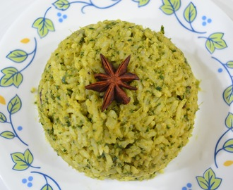 Mint rice/ Pudina rice