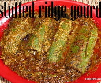 Stuffed ridge gourd curry recipe