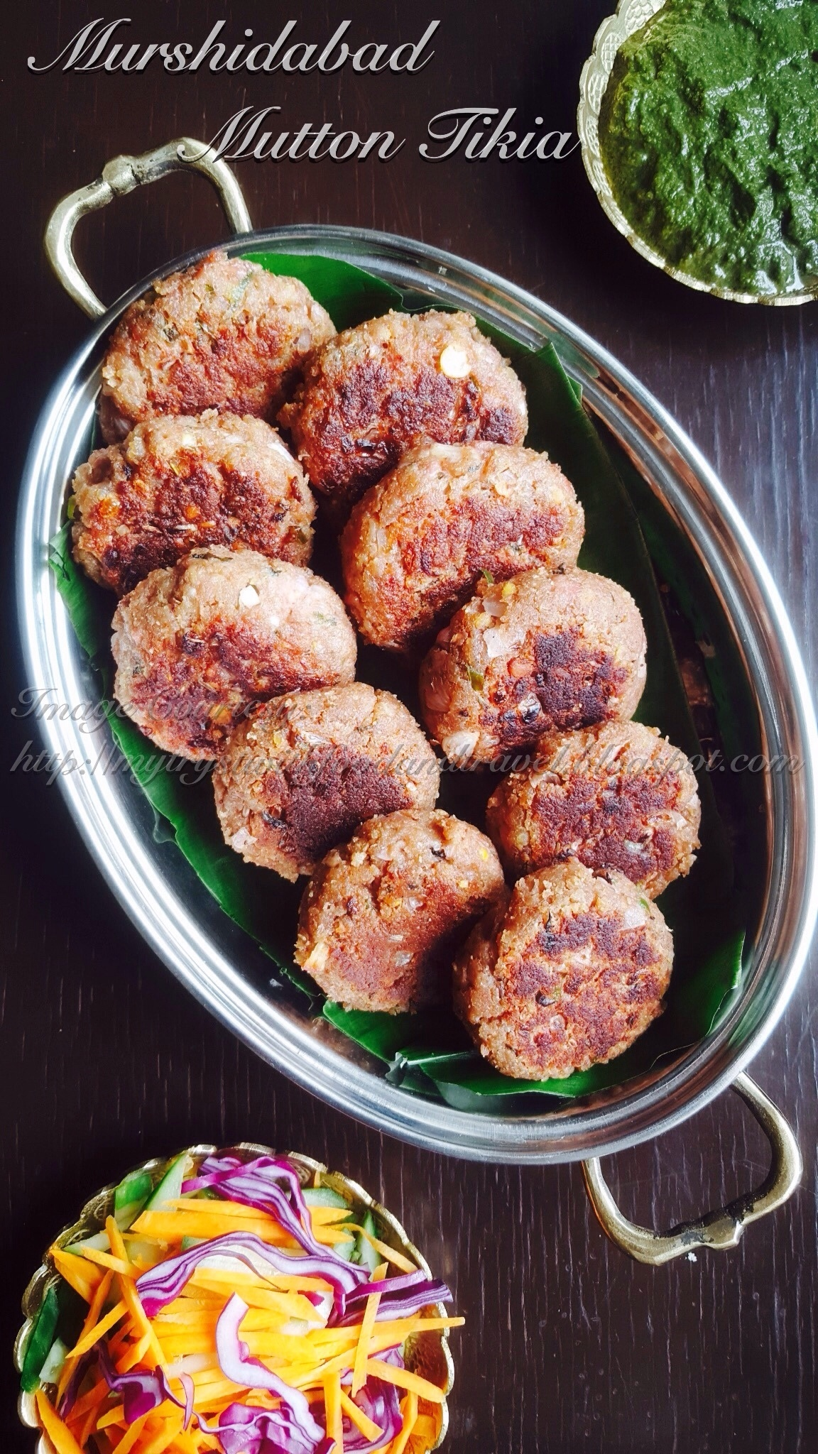 Murshidabad Mutton Tikia Recipe / Mutton Mince Patties Recipe (Murshidabad Style) / Mutton Keema Tikia Recipe ~ Just Recipes