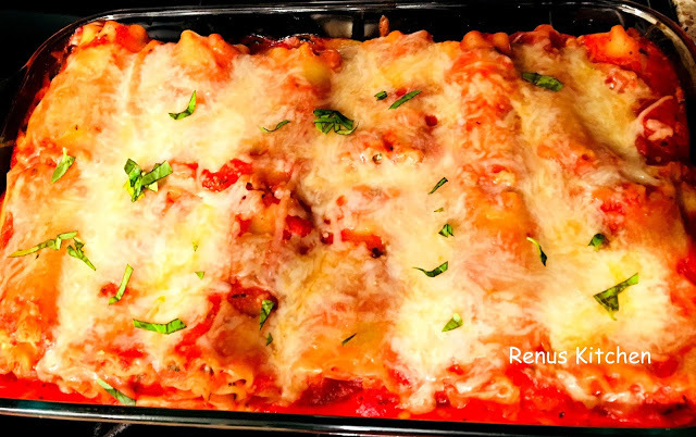 Roll up Spinach Lasagna
