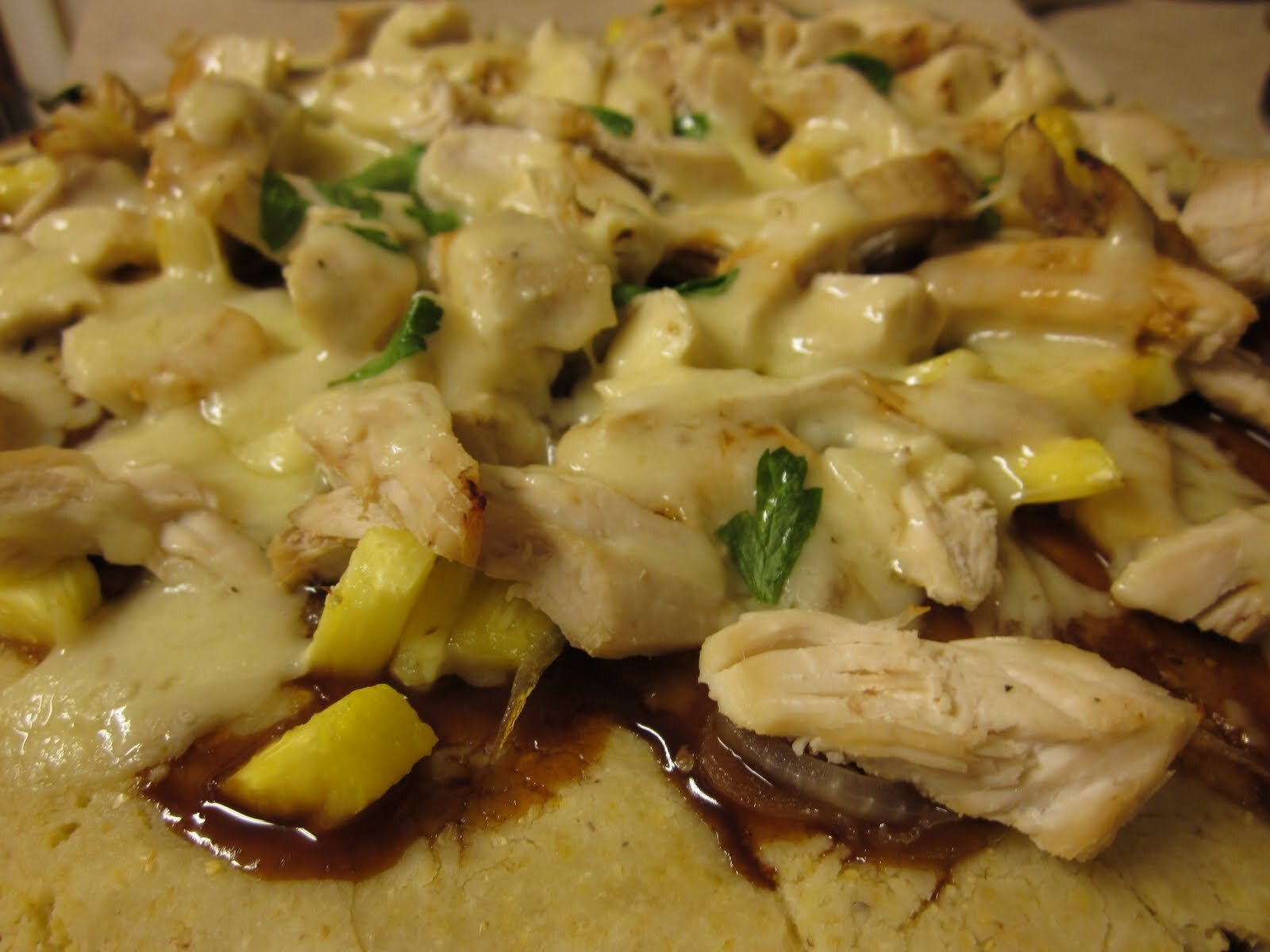 Gluten Free Chicken Pizza