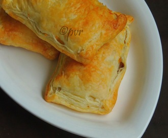 Onion Masala Puffs