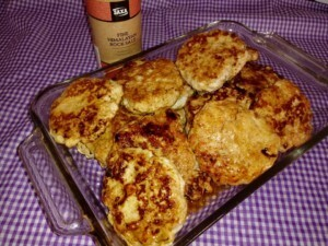 LOW CARB – GLUTEN FREE CHICKEN PATTIES
