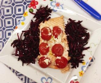 Ricette di salmone al cartoccio con verdure alla julienne for Verdure alla julienne
