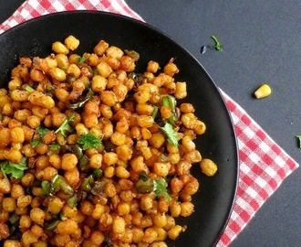 How to make Crispy Corn Kernels