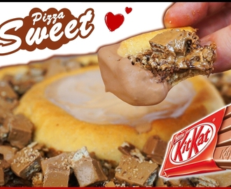 Kit Kat Pizza (Sweet Pizza) - Receta