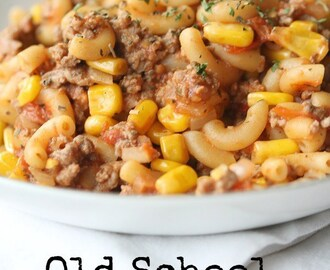 Old School Goulash