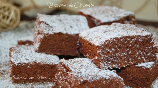 Brownies com Chocolate Extra