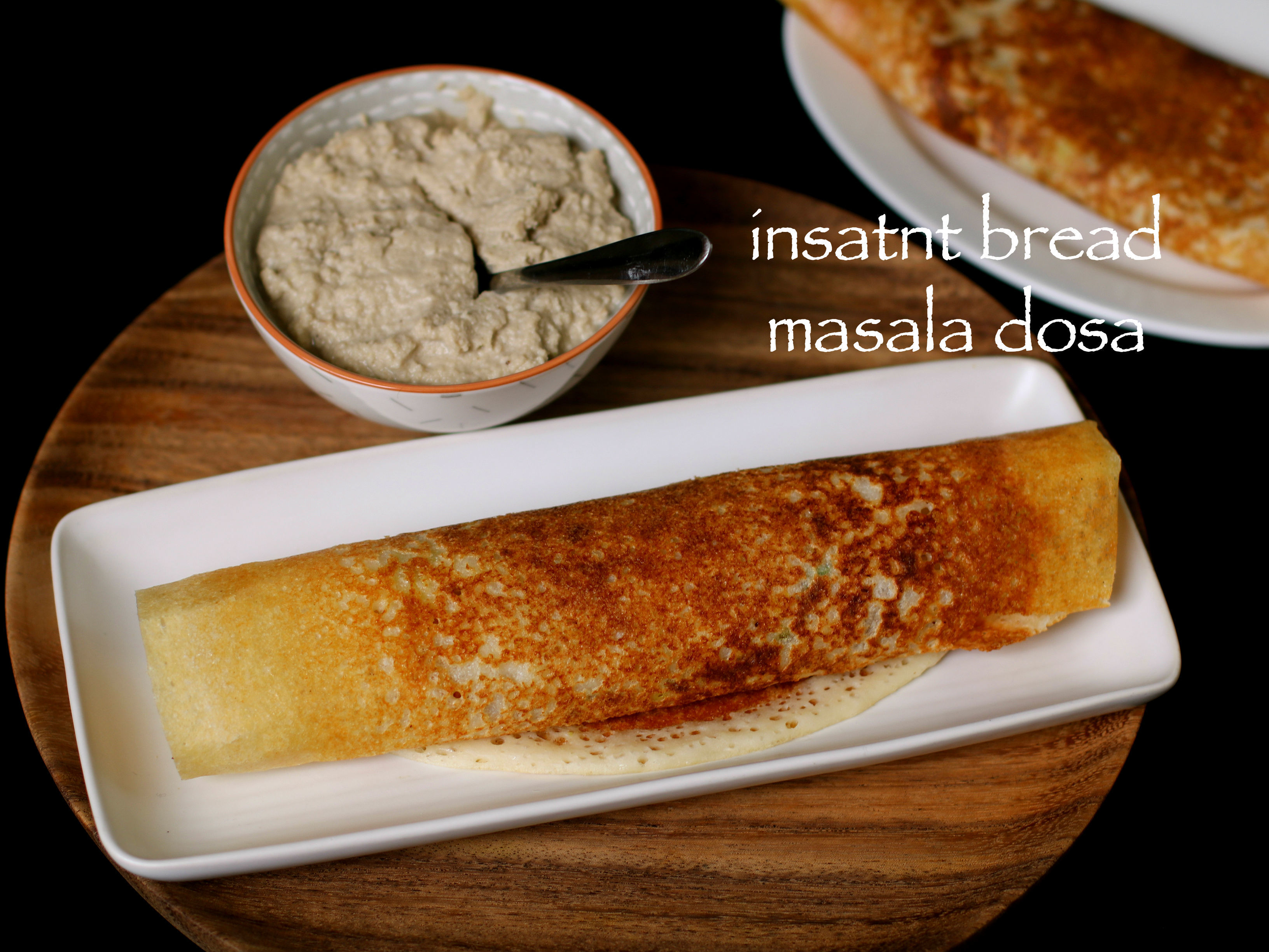 instant bread masala dosa recipe | instant bread dosa recipe