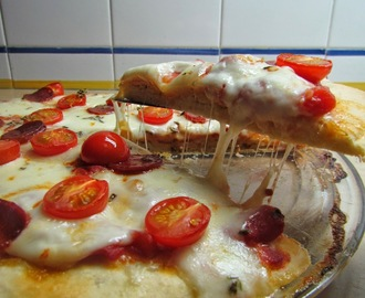 Pizza rápida e facil