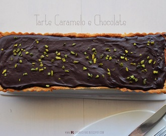 Tarte Caramelo e Chocolate | Caramel and Chocolate pie
