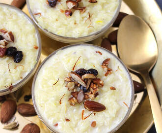 DOODHPAK | RICE PUDDING | KHEER