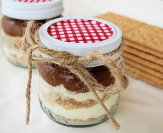 Chocolate Eclairs in a Jar