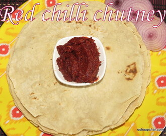 Red Chilly and Garlic Chutney