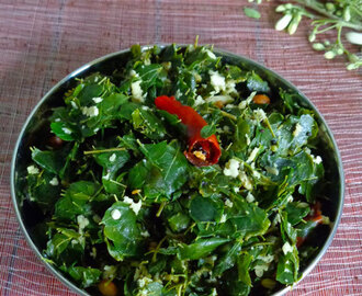 Drumstick Leaves Poriyal |Side dish recipes