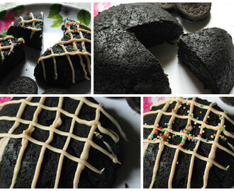 Microwave Eggless Oreo Cake Recipe