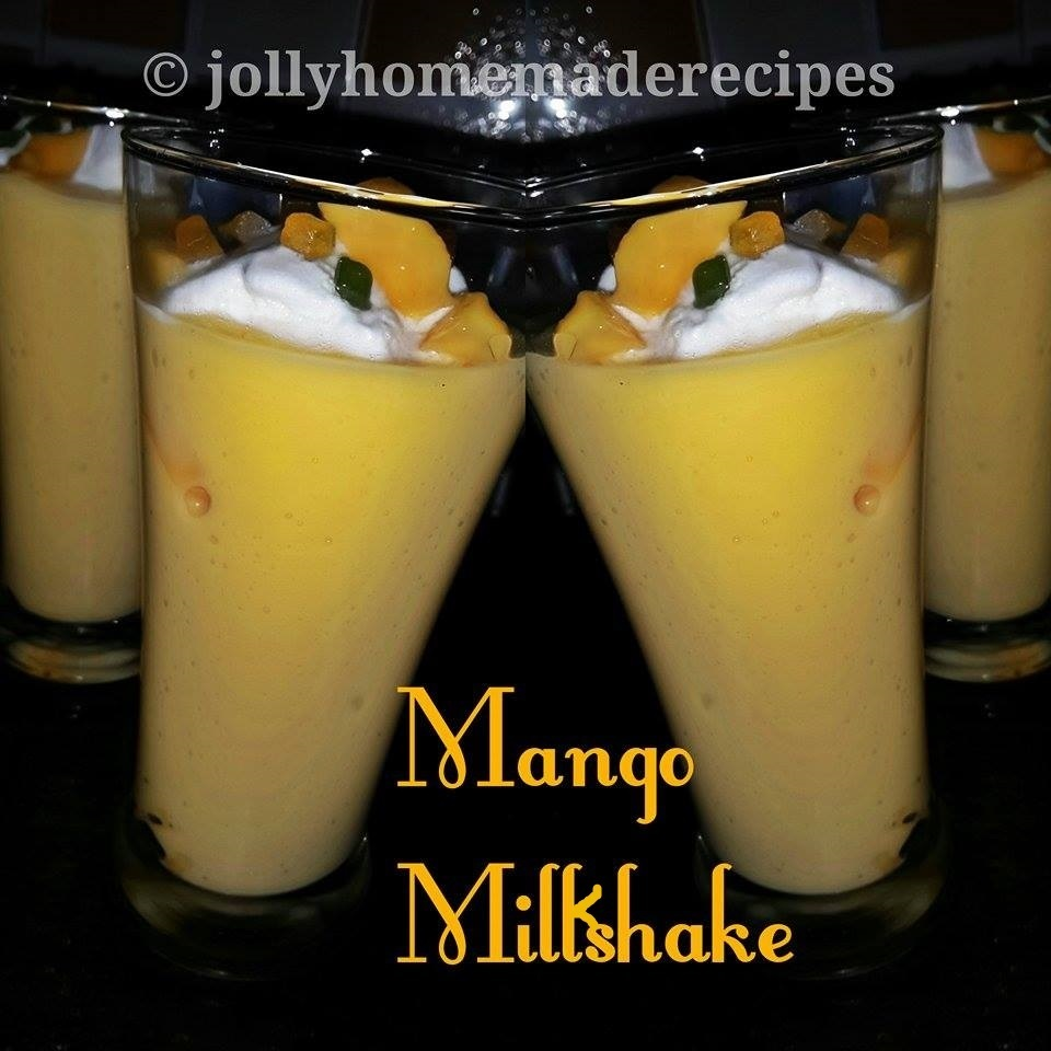 Mango Milkshake with Ice-Cream Recipe, How to make Mango Mastani Recipe
