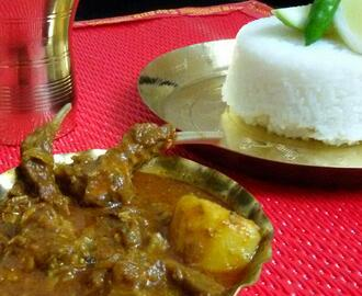 MUTTON KOSHA ( BENGALI STYLE MUTTON CURRY )
