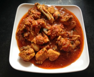 Onion Tomato Chicken Curry Gravy Recipe