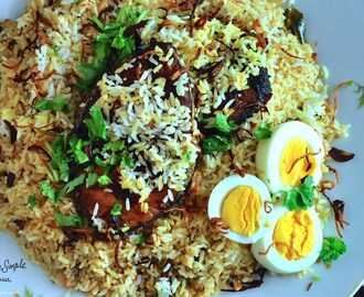 Malabar Fish Biryani – Delicious and Simple