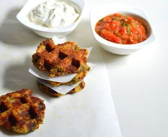 Healthy breakfast idea – Waffle Patties