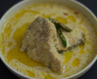 DAHI MACHA-  Fish cooked in rich yoghurt and mustard paste